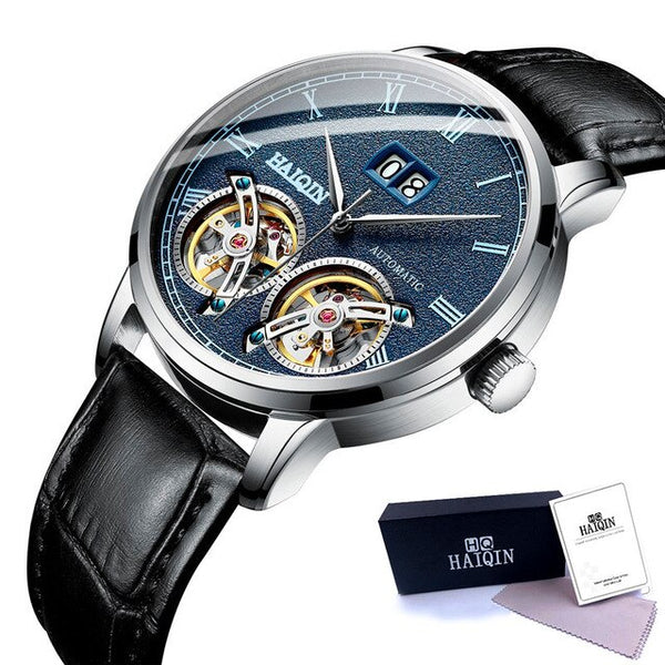 Waterproof Automatic Tourbillon Wristwatch for Men.
