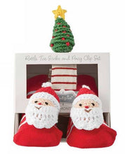 Load image into Gallery viewer, Santa Pacy and Sock Set