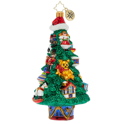 Christopher Radko Ornament - A Toy-Trimmed Tree