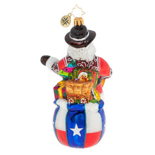 Load image into Gallery viewer, Christopher Radko Ornament - Boot Scootin' Santa