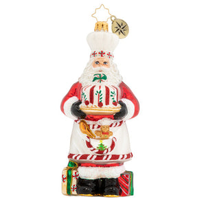 Christopher Radko Ornament - Baked with Love Santa