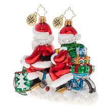 Load image into Gallery viewer, Christopher Radko Ornament - A Bicycle Built For Two