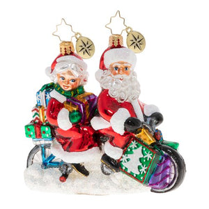 Christopher Radko Ornament - A Bicycle Built For Two