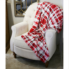 Load image into Gallery viewer, Alpine Plaid Throw Blanket