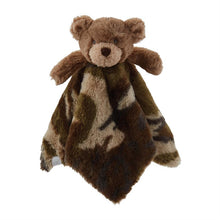 Load image into Gallery viewer, Camo Bear Plush Woobie