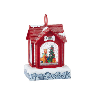 Puppies with Presents Musical Lighted Water Dog House