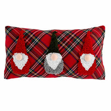 Load image into Gallery viewer, Long Small Tartan Gnome Pillow