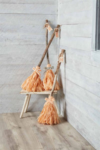 Creep Witch Broom Decor
