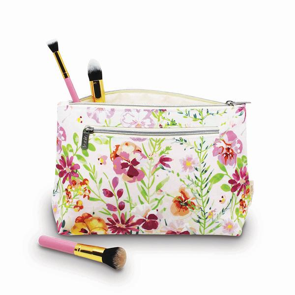 Large Cosmetic Bag - Morning Bloom
