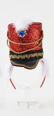 Red Toy Soldier Headband
