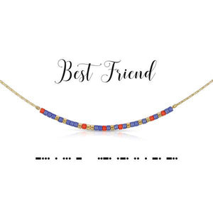 Morse Code Necklace - Best Friend