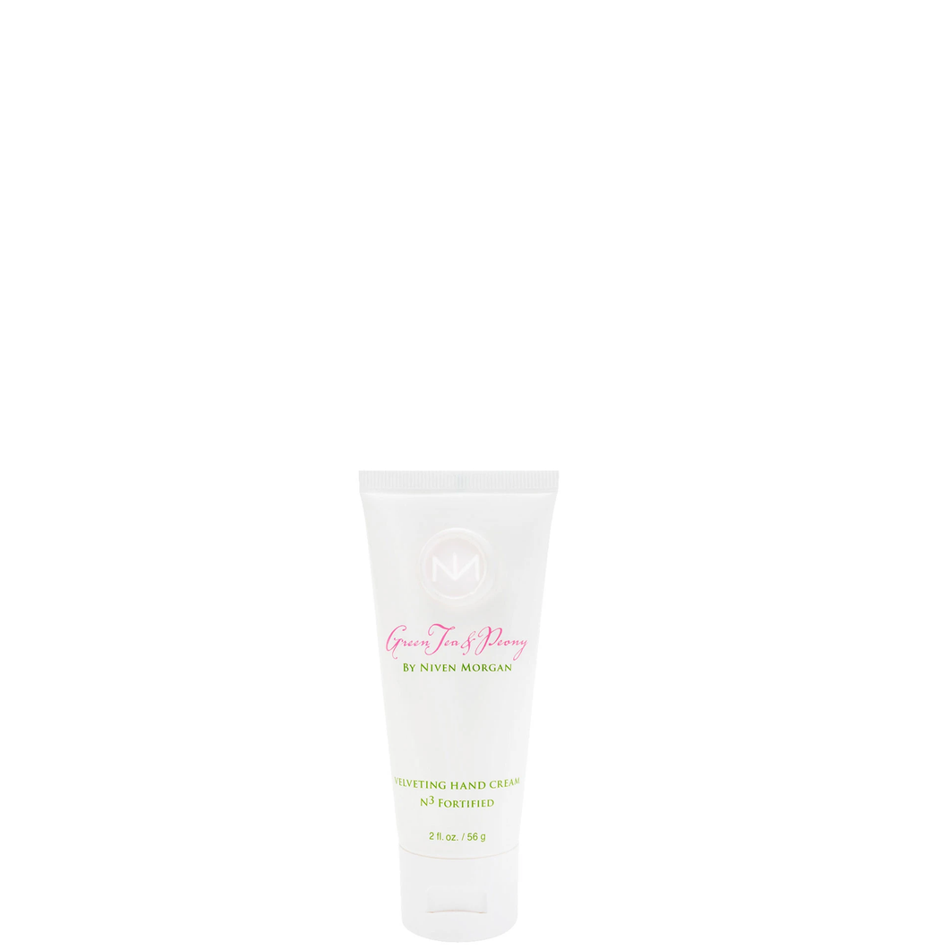 Niven Morgan Green Tea & Peony Travel Hand Cream
