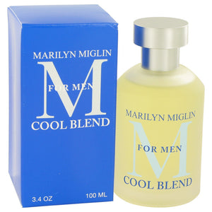 Marilyn Miglin Cool Blend by Marilyn Miglin Cologne Spray 3.4 oz (Men)