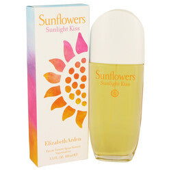 Sunflowers Sunlight Kiss by Elizabeth Arden Eau De Toilette Spray 3.4 oz (Women)