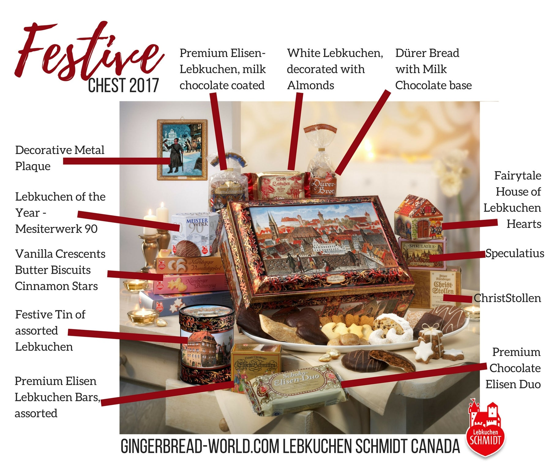 The Christmas Lebkuchen Treasures Inside the Festive Chest 2017