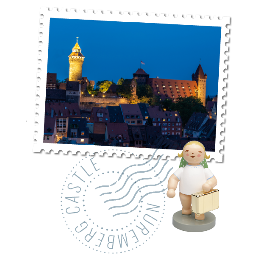Gingerbread World Blog - Nuremberg Travelogue with Wendt und Kuehn Globetrotter Angel