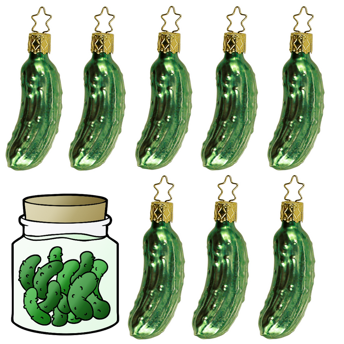 The German Christmas Pickle - Long Tradition or Complete Myth??