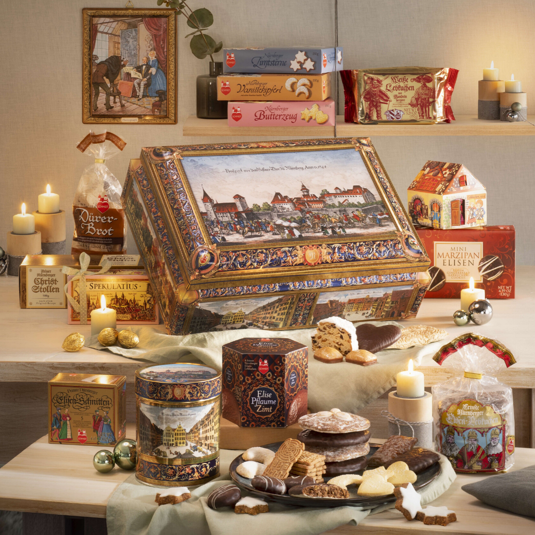 Gingerbread World Lebkuchen Schmidt Festive Chest 50400