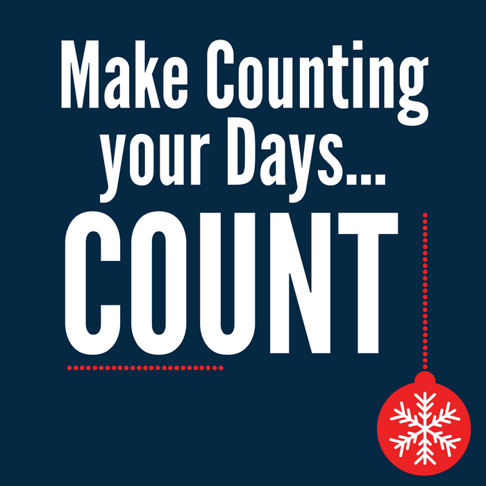 The Advent Calendar - Make Counting your Days Count