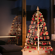 Spira Wooden Christmas Trees Available in Canada