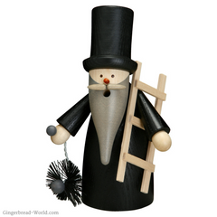Gingerbread World Blog - Traditional German Good Luck Symbols or Glücksbringer - The Lucky Chimney Sweep Smoker