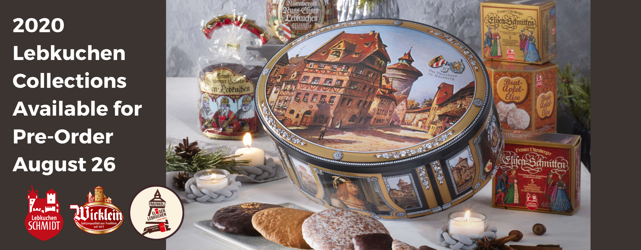 Gingerbread World Authentic Nuremberg Lebkuchen. German Gingerbread from Schmidt, Wicklein and Fraunholz