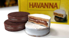 Gingerbread World Blog: Gingerbread World Goes to Argentina and comes home with Havanna Alfajores cookies