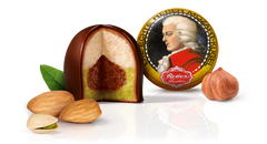 Gingerbread World Blog: Mozart Kugeln – Pistachio Marzipan, Nougat and Chocolate