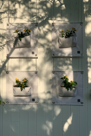 European Ware Haus Blog - The Green Pockets in White at Verger Creatif in Montreal Quebec