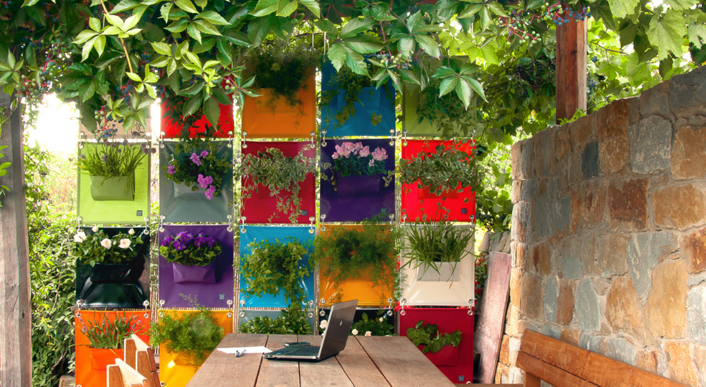 European Ware Haus Blog - What to grow in the Green Pockets hanging planters