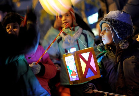 Gingerbread World Blog - St. Martin's Day lanterns