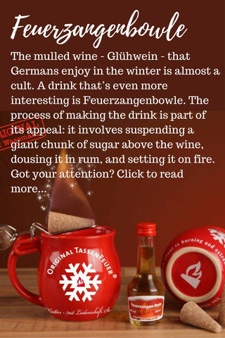 Gingerbread World Blog - Feuerzangenbowle Traditional German Christmas Drink