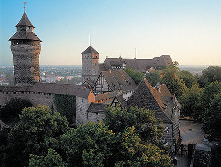 Gingerbread World Blog - Nuremberg Travelogue. Nuremberg Castle