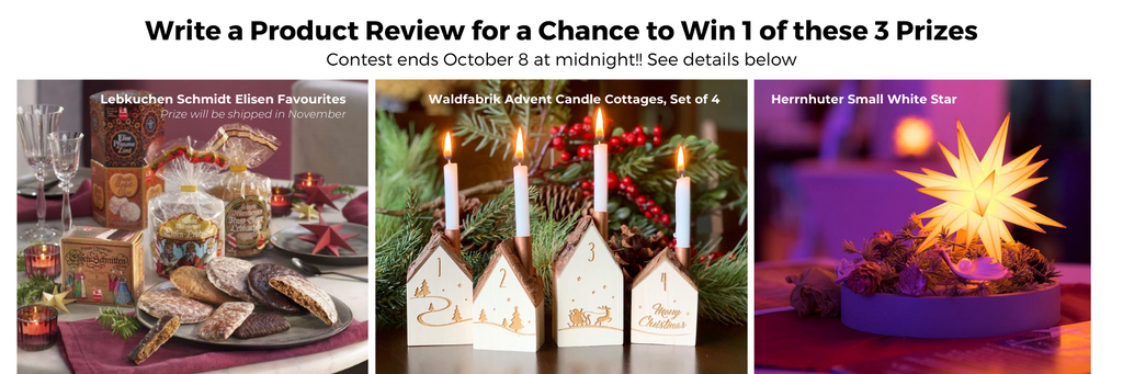 Gingerbread World European Christmas Market 2021 - Product Review Contest 2021 Three Prizes Available