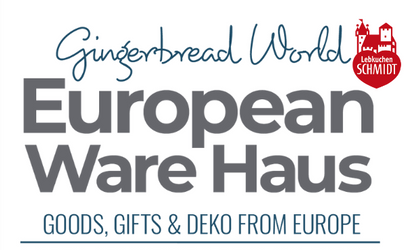 Gingerbread World's European Ware Haus and German Christmas Market
