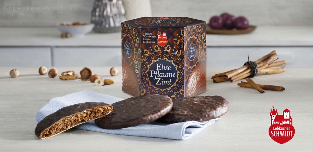 Gingerbread World Lebkuchen Schmidt Canada - Lebkuchen of the Year 2020 Plum Cinnamon Elise