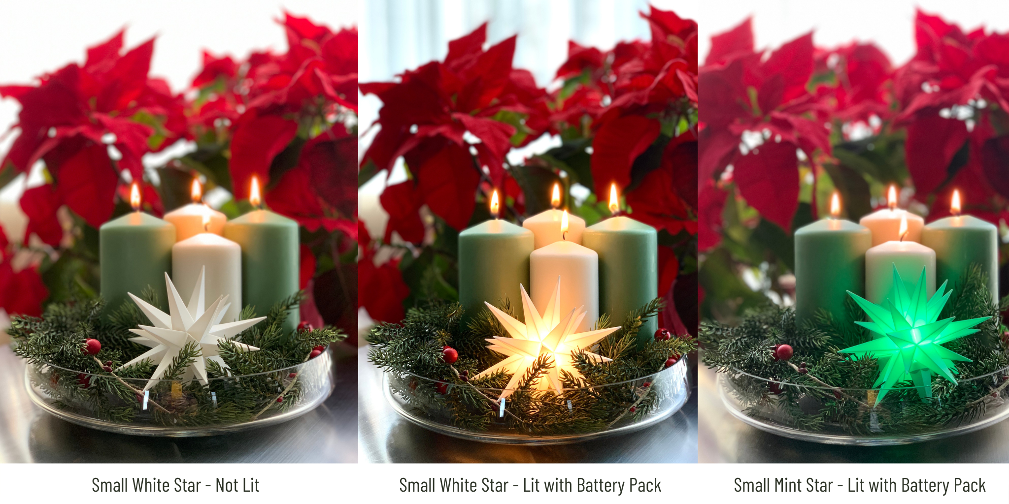 European Ware Haus by Gingerbread World - How to Display a Small Herrnhuter Moravian Advent Star