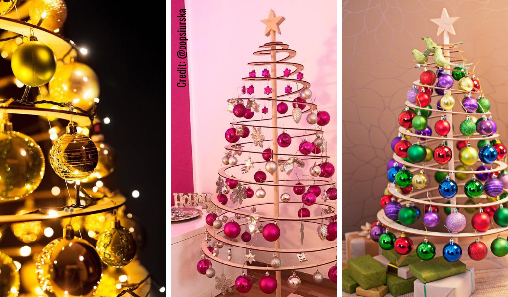 Spira Wooden Christmas Trees Canada – Innovative, Modern, Easy