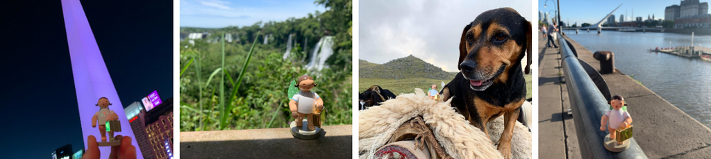 Gingerbread World Blog: Gingerbread World Goes to Argentina with the  Wendt & Kuehn Globetrotter Angel