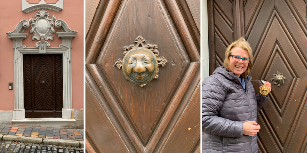Gingerbread World Blog - Bamberg Germany's Famous Door Knob - The Apfelweibla