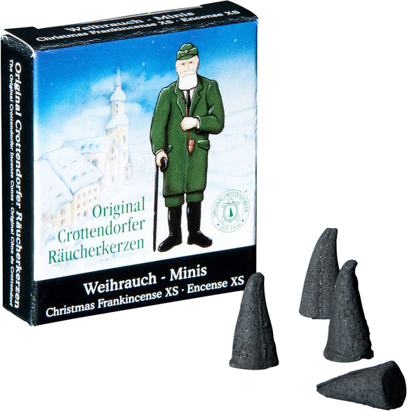 Gingerbread World Original Crottendorfer Räucherkerzen Smoker Incense, Minis