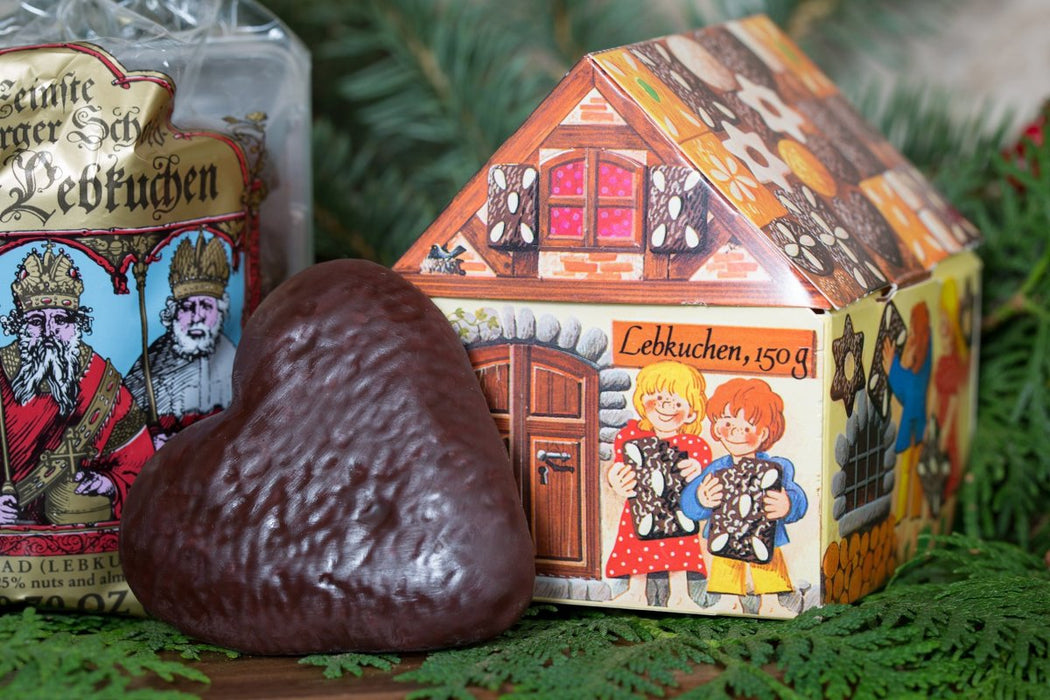 Gingerbread World Lebkuchen Schmidt Canada - Fairy Take House with Lebkuchen Hearts or Herzen