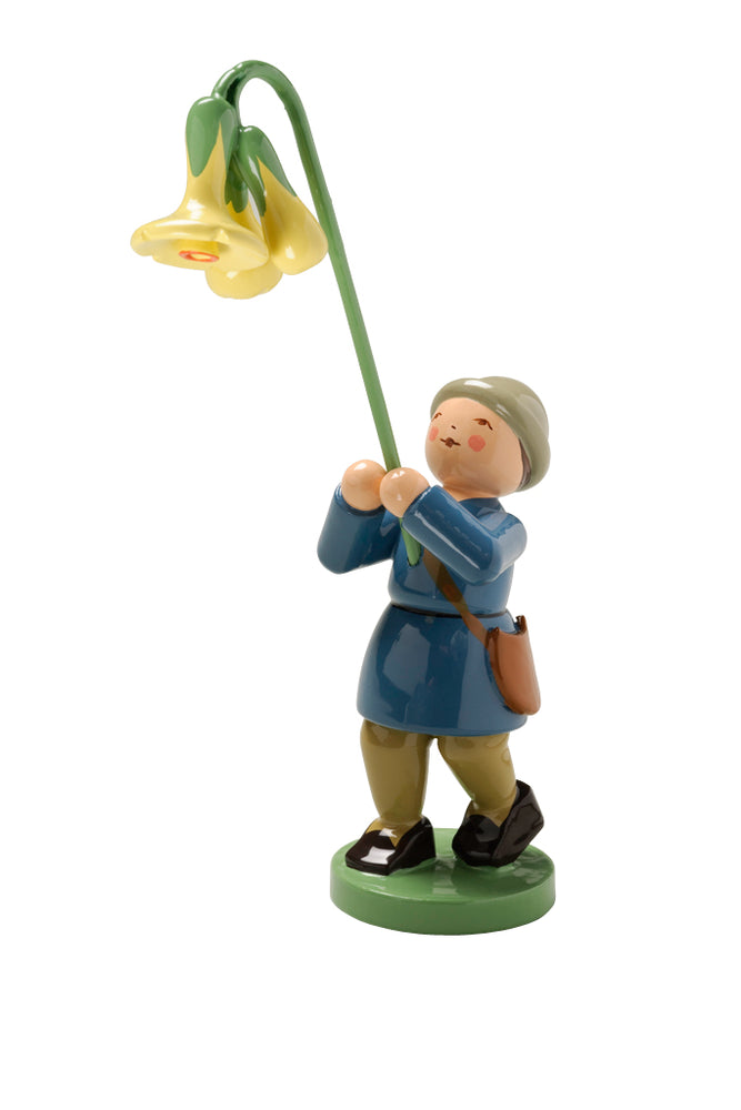 Wendt & Kühn Blumenkinder - Boy with Cowslip. Wendt and Kuehn Canada
