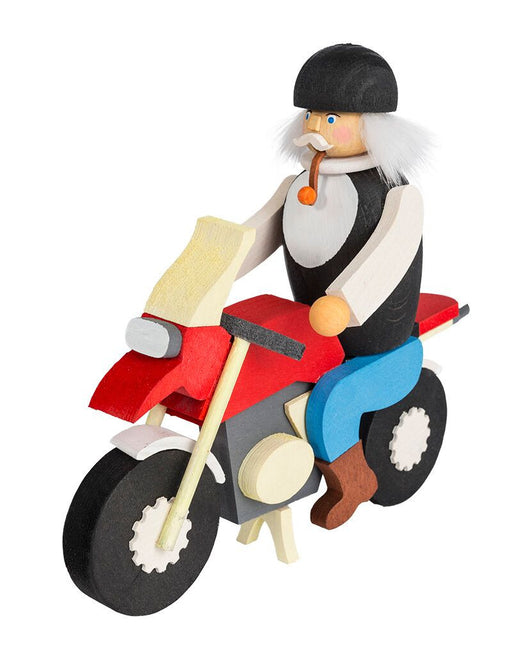 Gingerbread World Graupner Holzminiaturen Traditional German Christmas Smoker – Biker