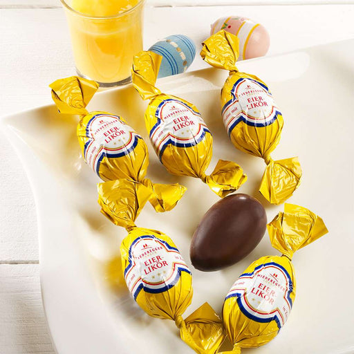 Niederegger Chocolate Easter Eggs filled with Egg Liqueur