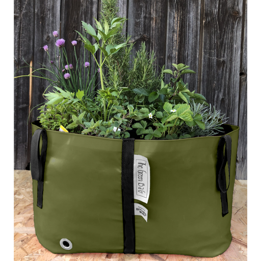 Blooming Walls Canada The Green Bag Plant Bag - Large - Olive Green
