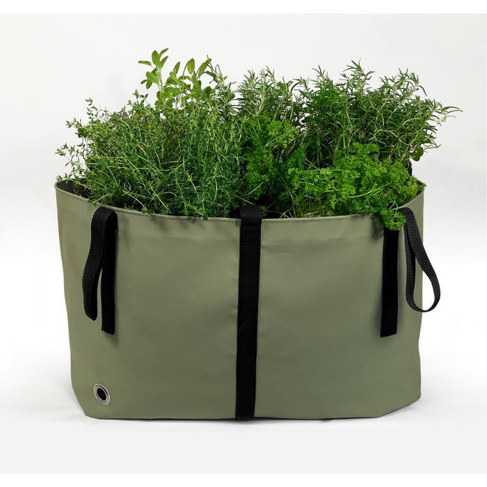 Blooming Walls Canada The Green Bag Plant Bag - Medium - Olive Green