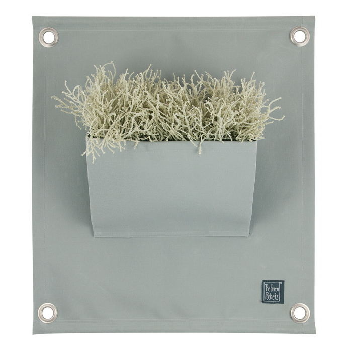 The Green Pockets® Hanging Plant Bag, Grey