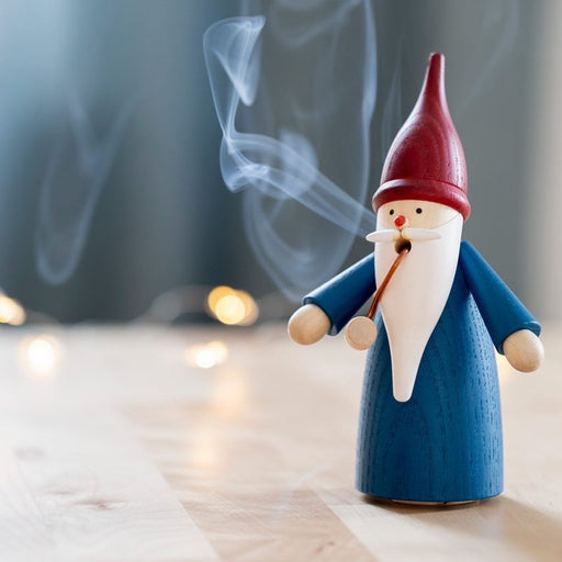 Gingerbread World Seiffener Volkskunst Traditional Christmas Smoker – Gnome Incense Smoker
