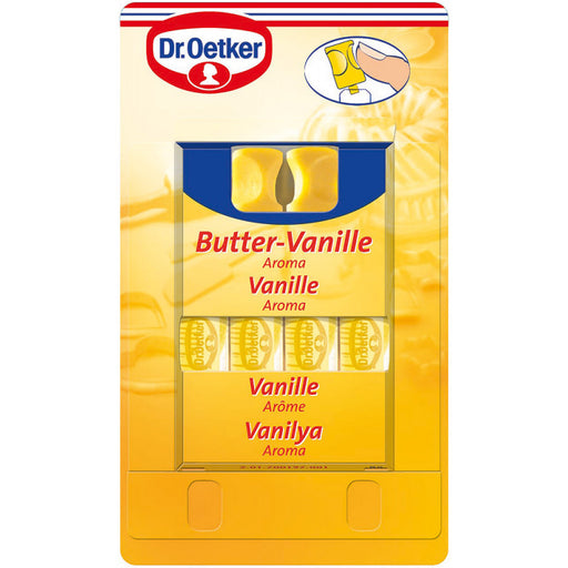 Dr Oetker Butter Vanille Vanilla Oil Flavouring